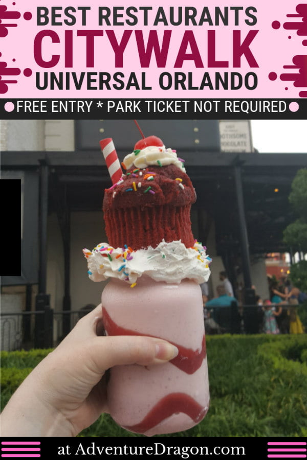 Best Universal CityWalk Orlando Restaurants