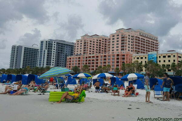 Oceanfront Clearwater Beach Hotels Near Pier 60