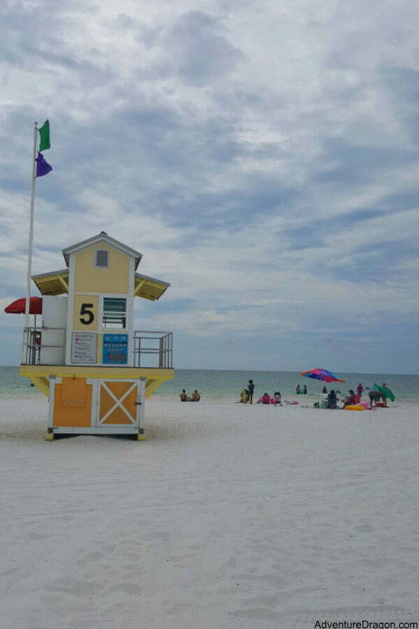 Clearwater Beach Lifeguard Station Near Pier 60