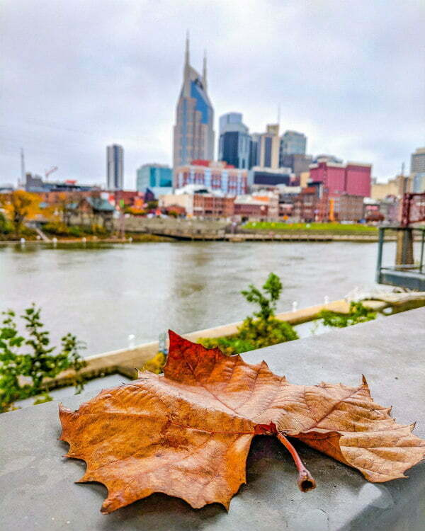 Nashville Tennessee in the Fall