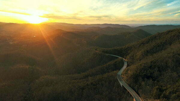 Great Smoky Mountains National Park Foothills Parkway - The Prettiest Road Trip in Tennessee in the Fall