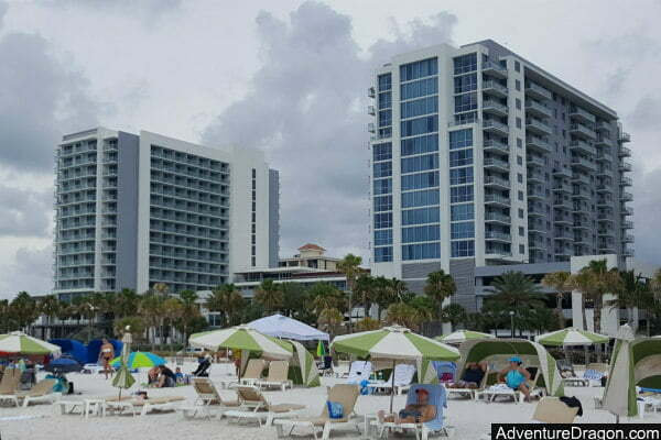 Oceanfront Wyndham Grand Clearwater Beach Hotel Near Pier 60
